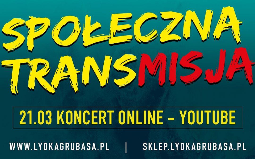 Koncert online zespołu Łydka Grubasa