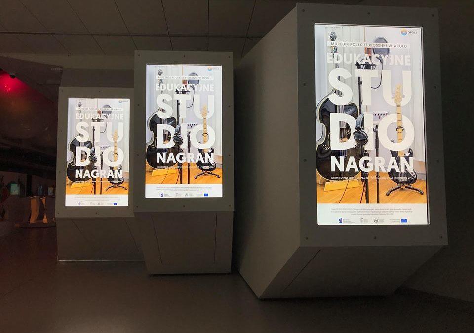 Przyszedł na to czas! Ruszyło Edukacyjne Studio Nagrań w Muzeum Polskiej Piosenki!
