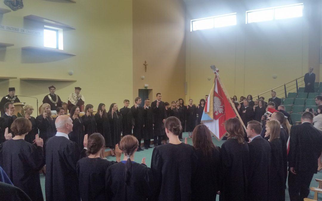 Uroczystość promocji doktorów i doktorów habilitowanych oraz wręczenie nagród rektora