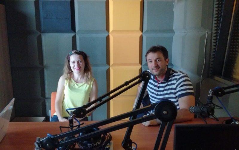 Radiowcy opowiadają gościom z Czarnogóry o Sygnałach