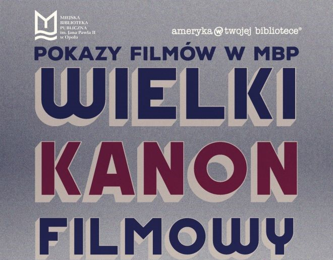 Wielki Kanon Filmowy w MBP